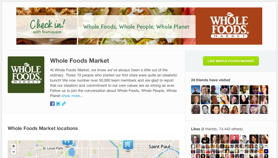 4SQ Whole Foods
