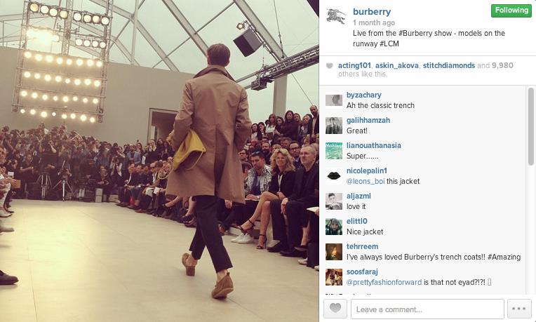 Burberry IG