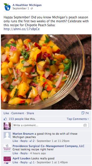 A Healthier MI FB