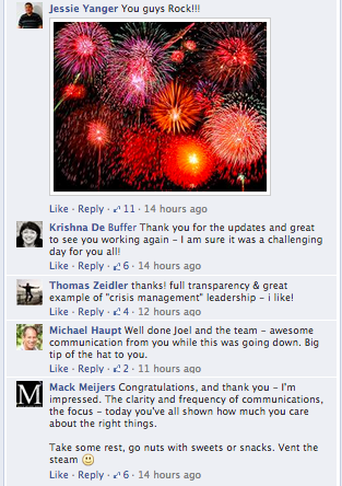 Buffer FB comments