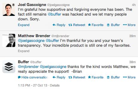 Buffer apology tweet1