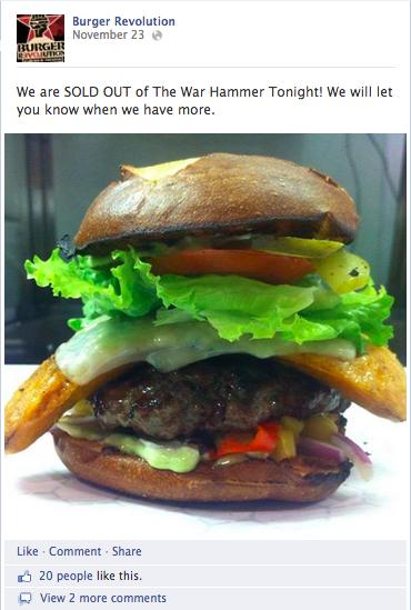 BR burger update