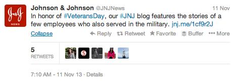 J&J Twitter Blog