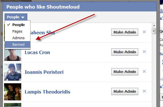 FB admin