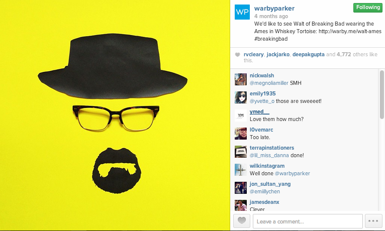 Warby Parker IG