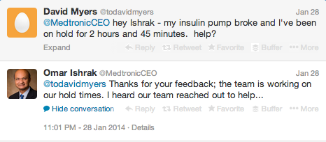 Medtronic CEO Twitter 6