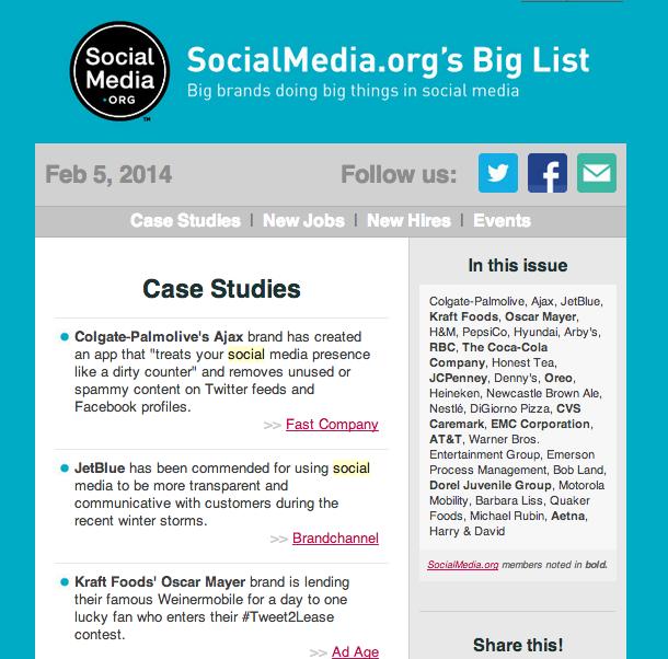Social Media Org