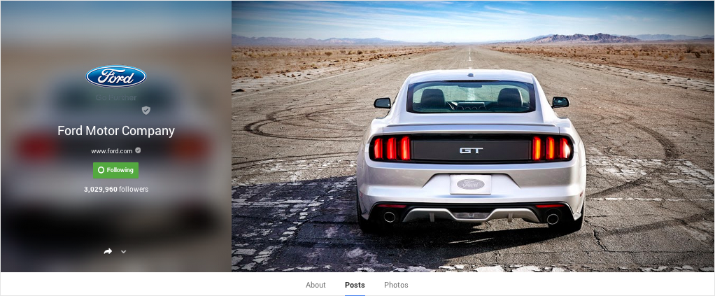 Ford G+ 1