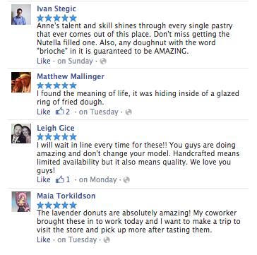 Bogarts FB reviews