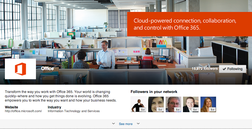 Showcase Page Office