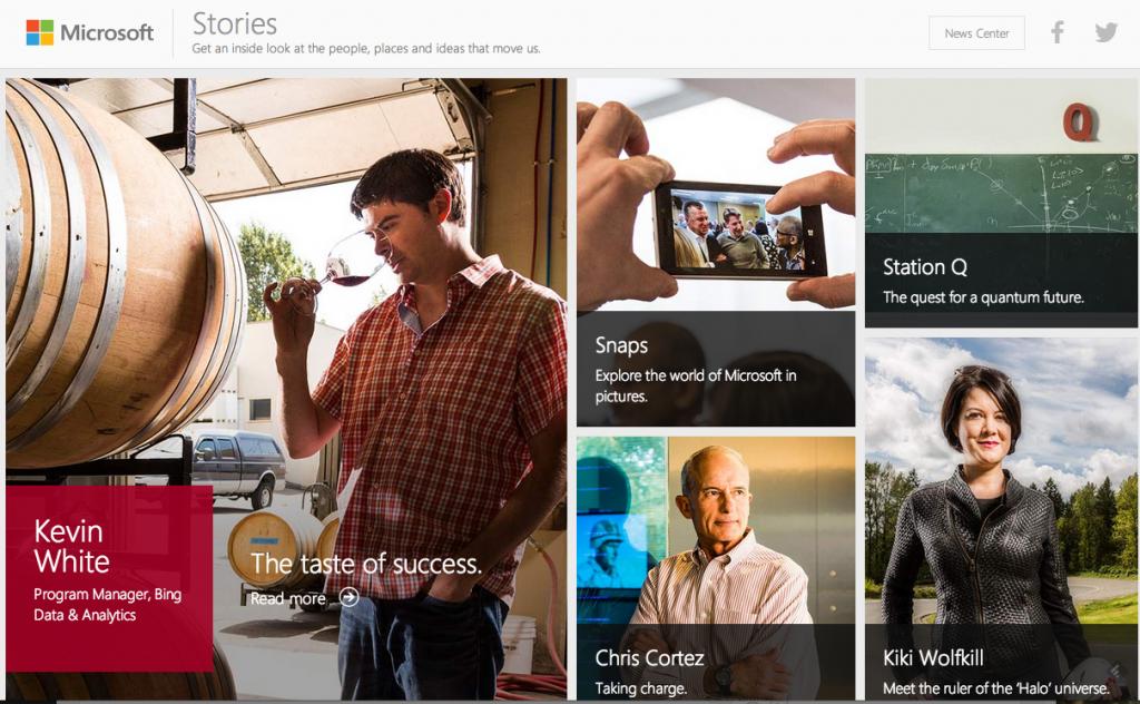 Microsoft Stories 1