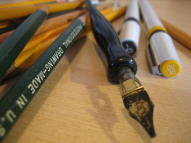 Fancy pencil