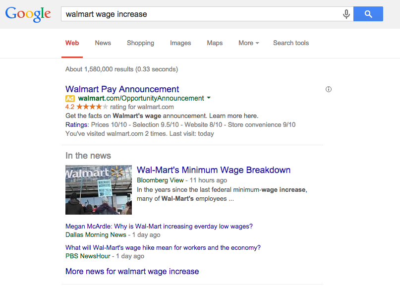 WMT paid search