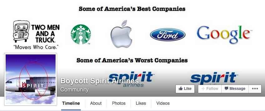 Spirit FB Farce Page