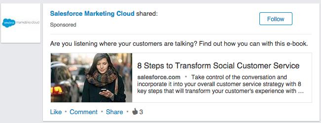 LinkedIn sponsored 6