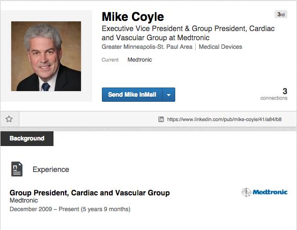 Mike Coyle LinkedIn