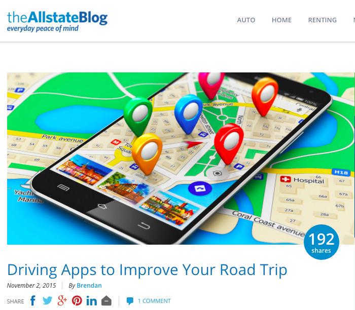 Allstate blog